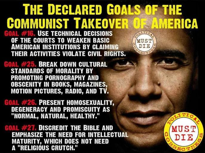 Declared goals of Communist Party of America