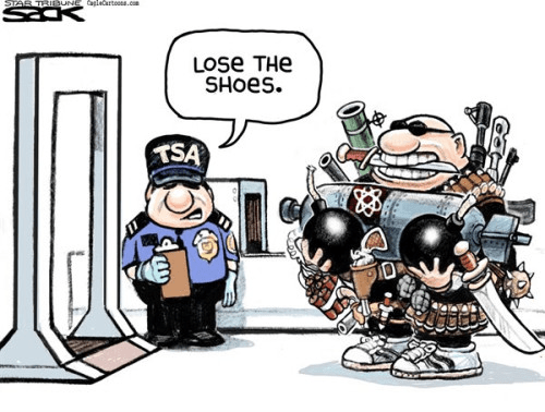 TSA cartoon