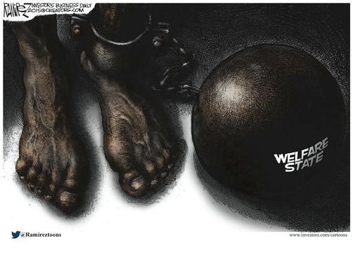 Welfare state enslaves black