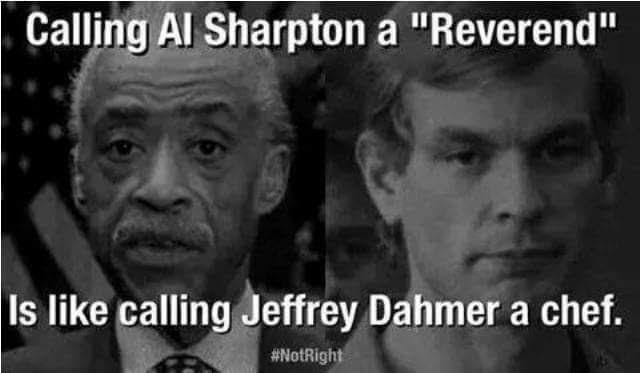 Al Sharpton Jeffrey Dahmer
