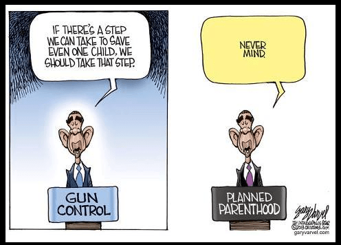 Obama gun control and planned parenthood