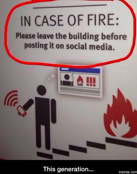 Social media and fire