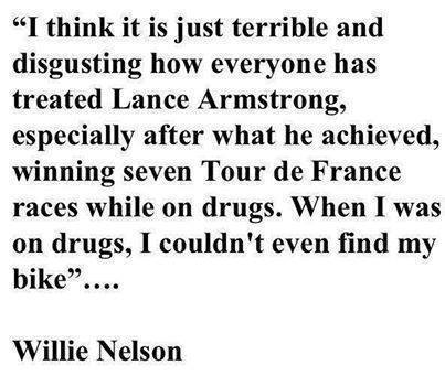 Willie Nelson Lance Armstrong