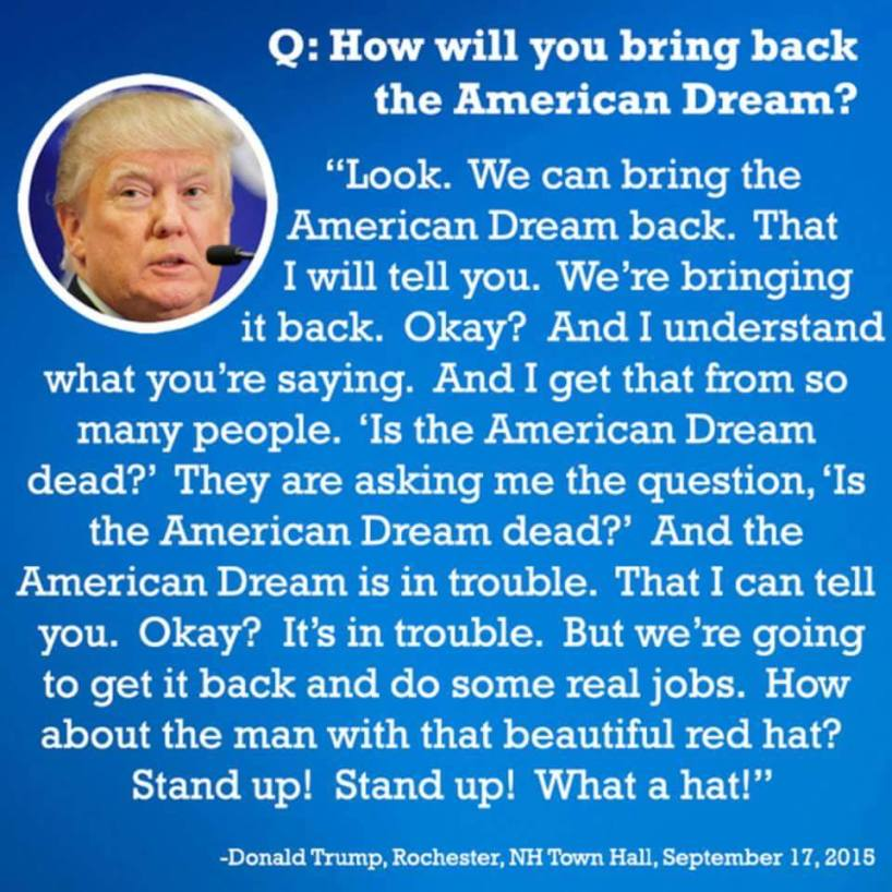 Donald Trump in his own words