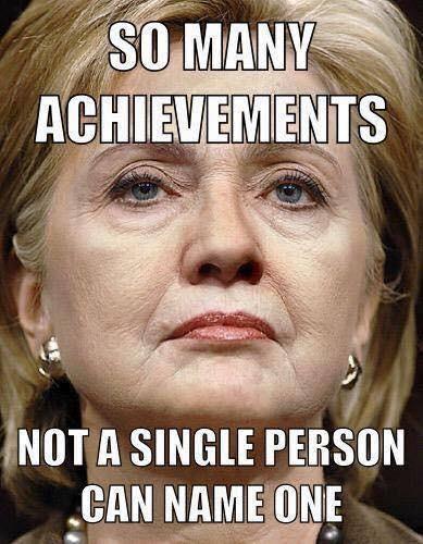 Hillary's achievements