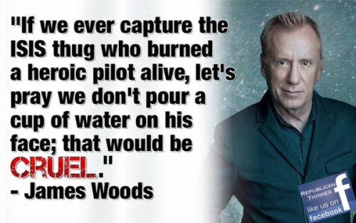 James Woods on Muslim cruelty