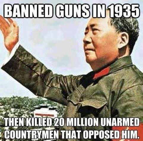 Mao and gun bans