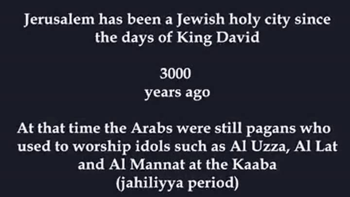 Israel Jewish for 3000 years