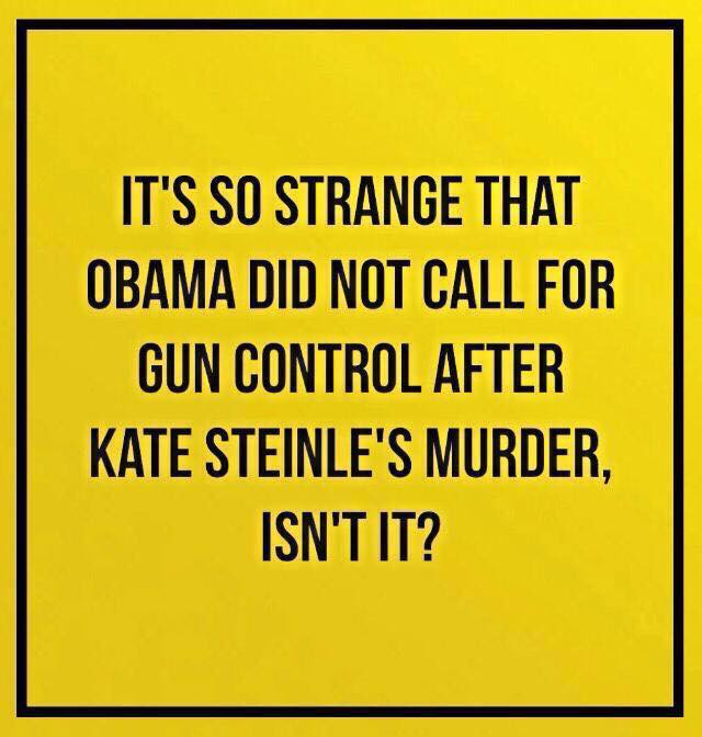Obama silent after Kate Steinle murdered