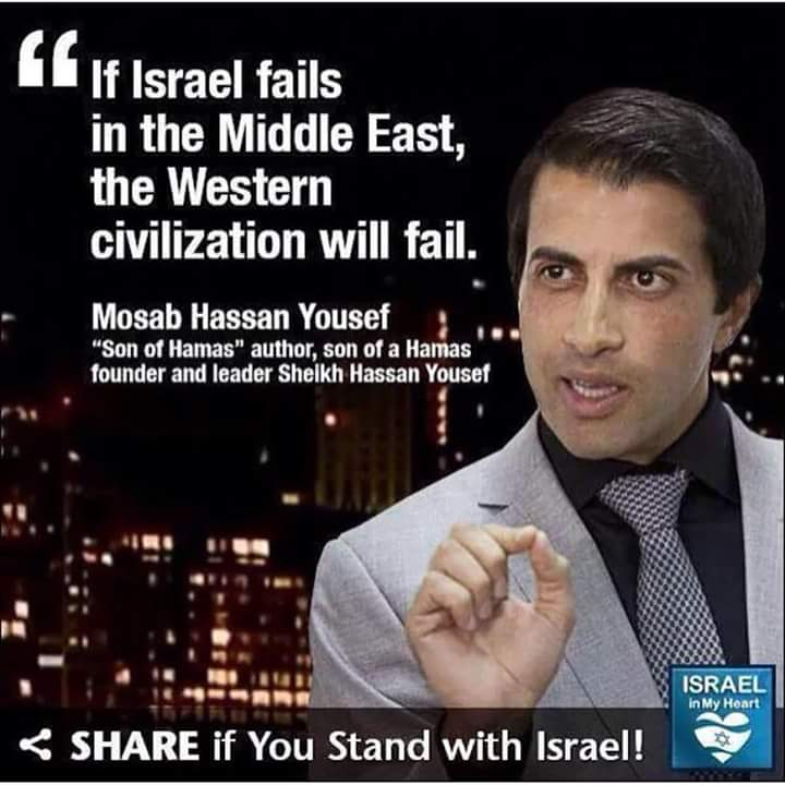 Son of Hamas on Israel's survival