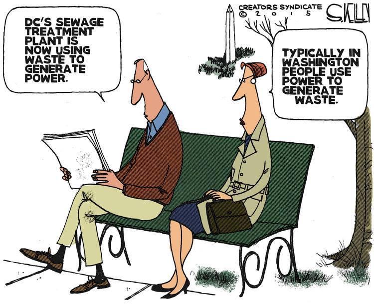 Washington generates waste