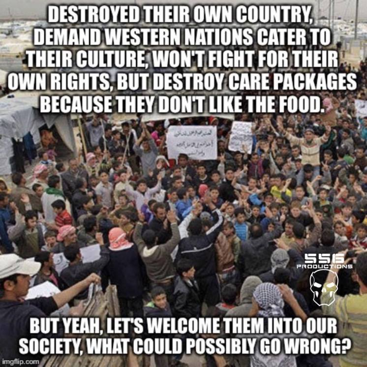 Welcoming destructive Muslims to the West