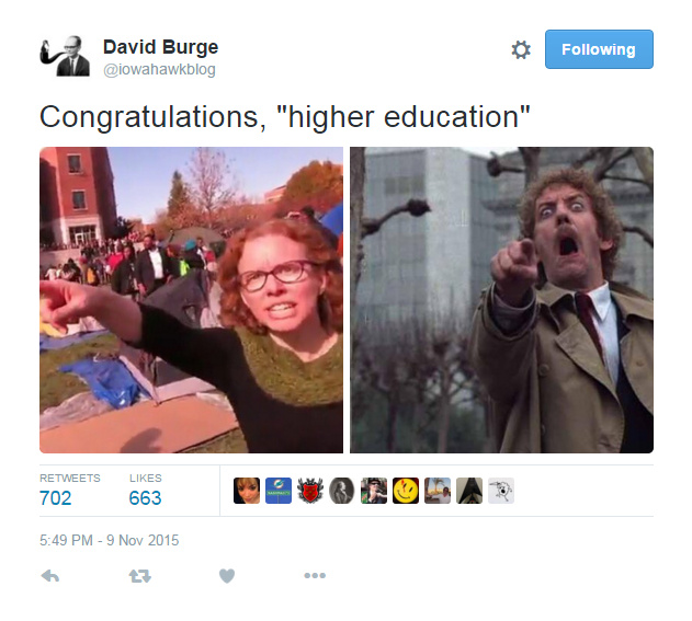 Free speech and higher education