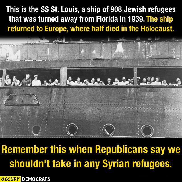 St. Louis and Jewish refugees