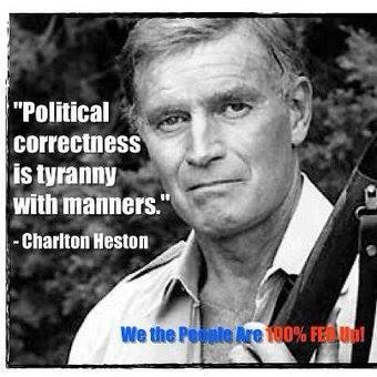 Charlton Heston on political correctness