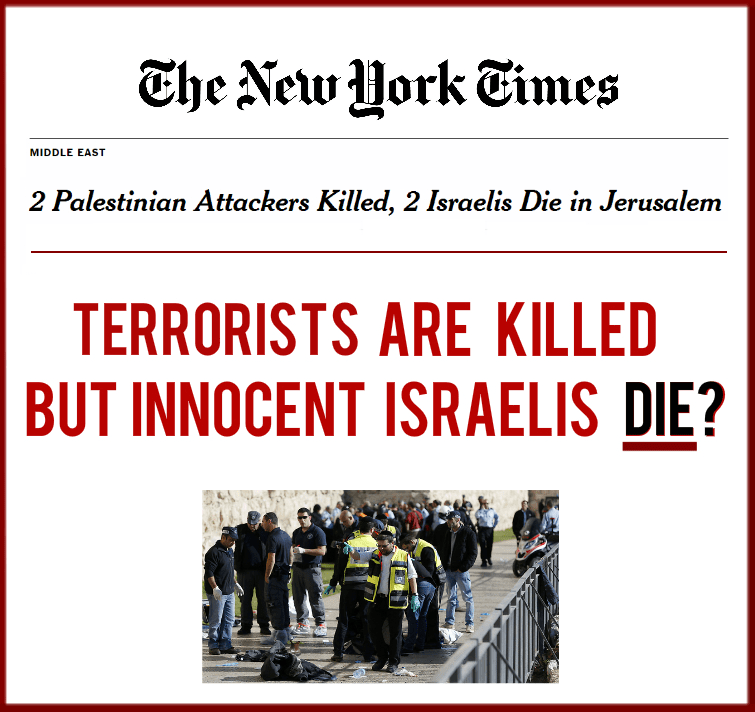 New York Times anti-Israel bias