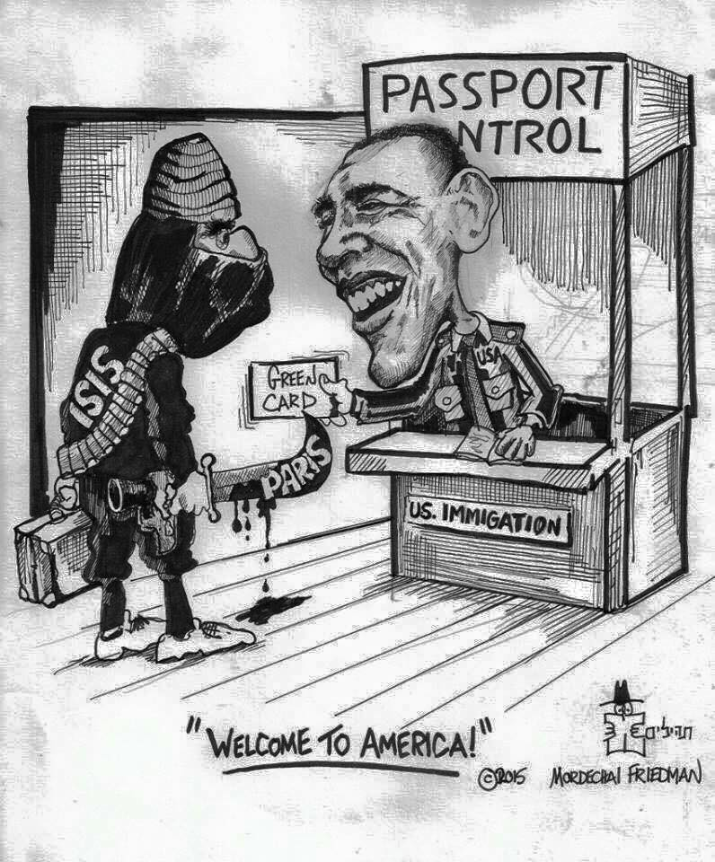Obama welcoming potential terrorists