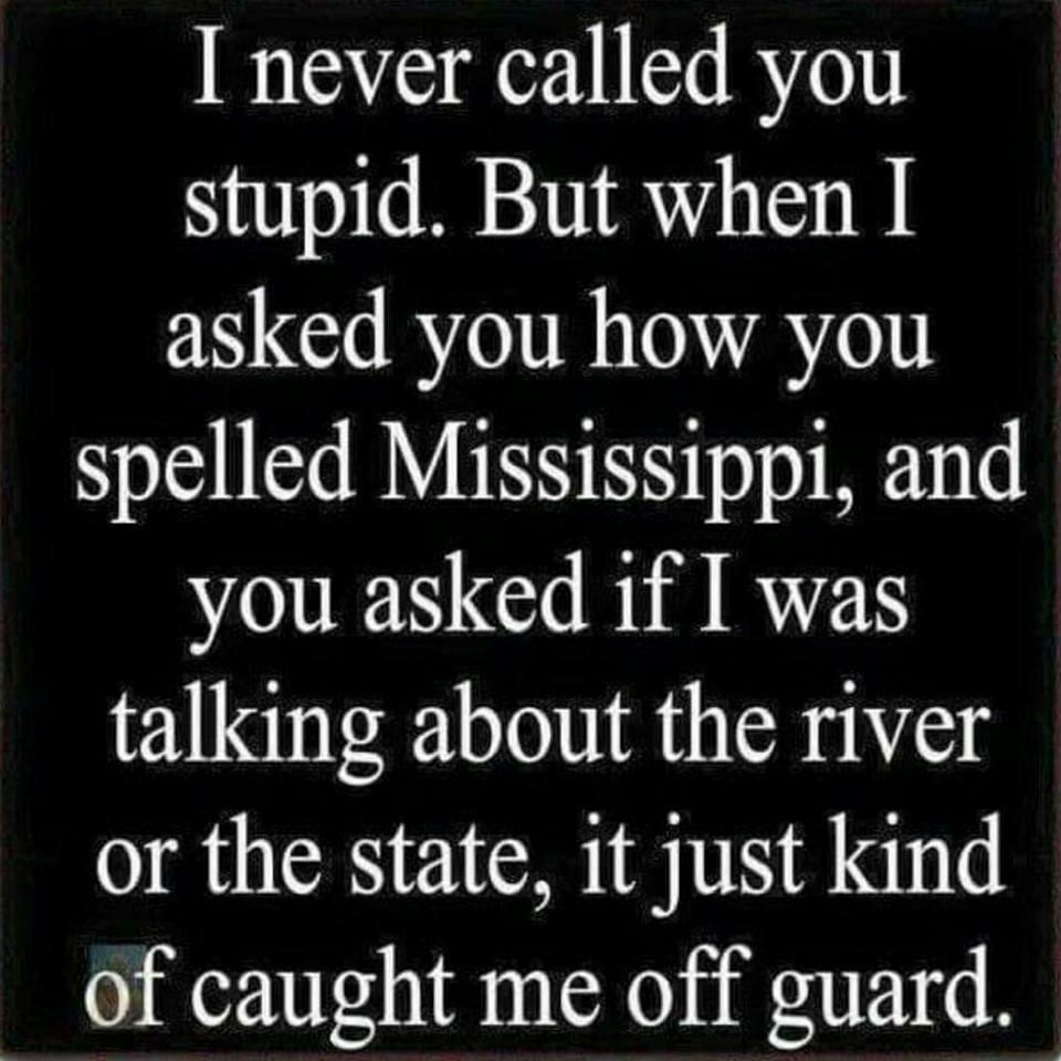 Mississippi river state spell