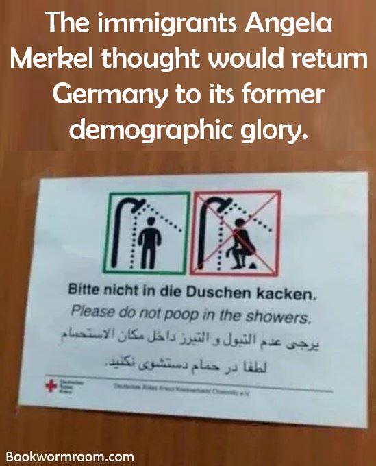 Muslim in Germany need poop training