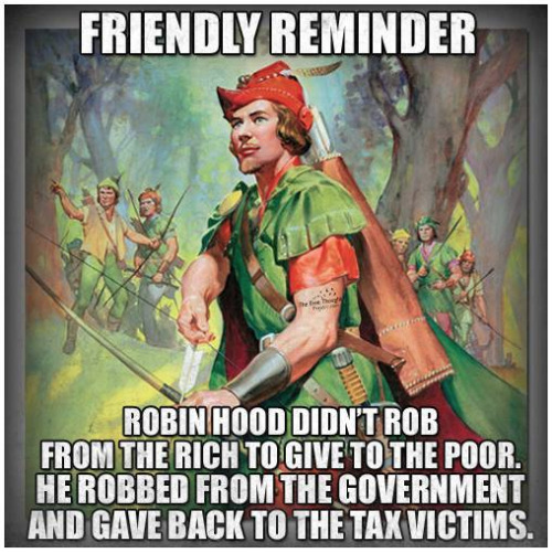 Robin Hood returned tax dollars