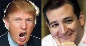 Trump and Cruz