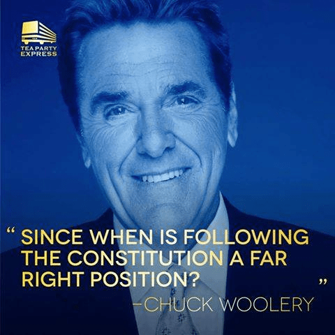 Chuck Woolery on following Constitution