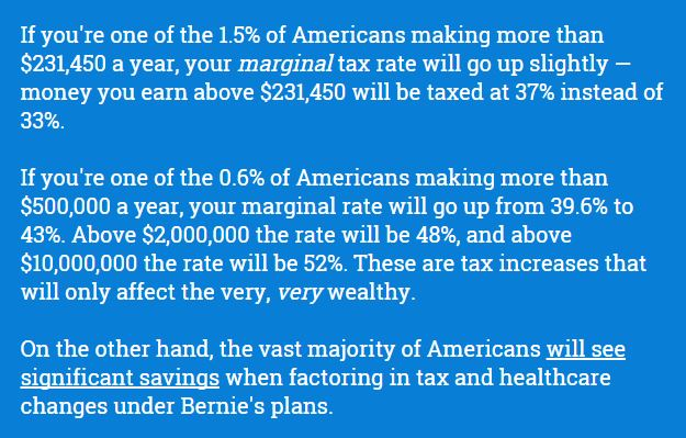 I Like Bernie But On Taxes