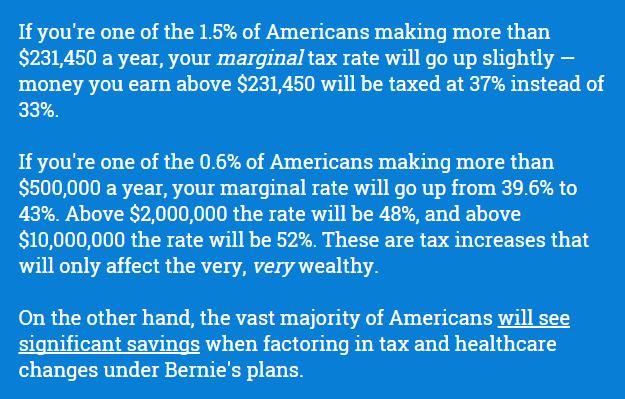 I Like Bernie But On Taxes