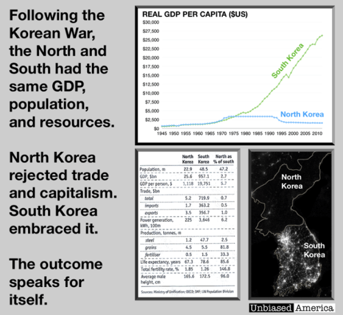 North and South Korean economies