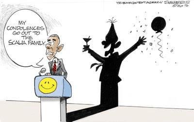 Obama on Scalia's death