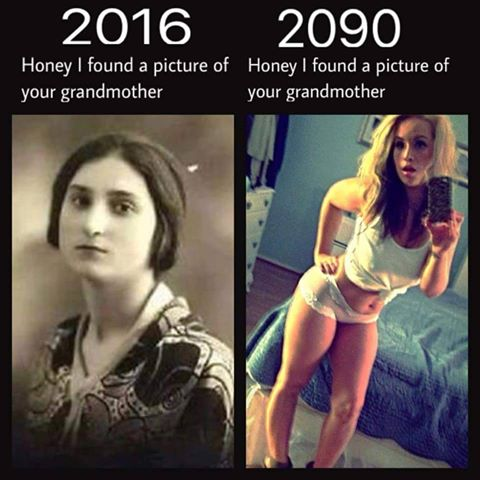 Silly Pictures of grandmother sluts