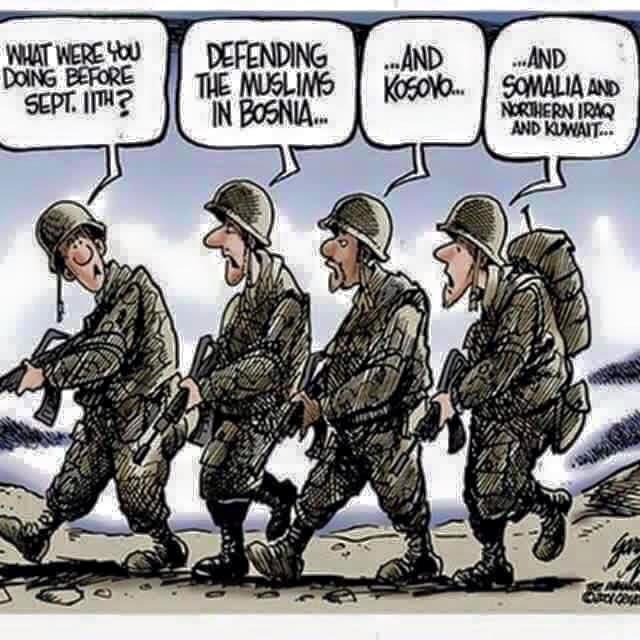 Muslims American military
