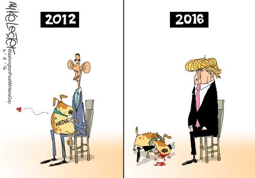 Obama Trump Media