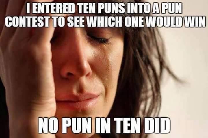 Silly pun joke