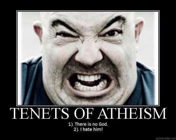 Stupid liberals Religion atheists deny and hate God