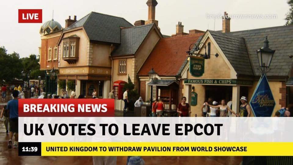 Brexit Epcot