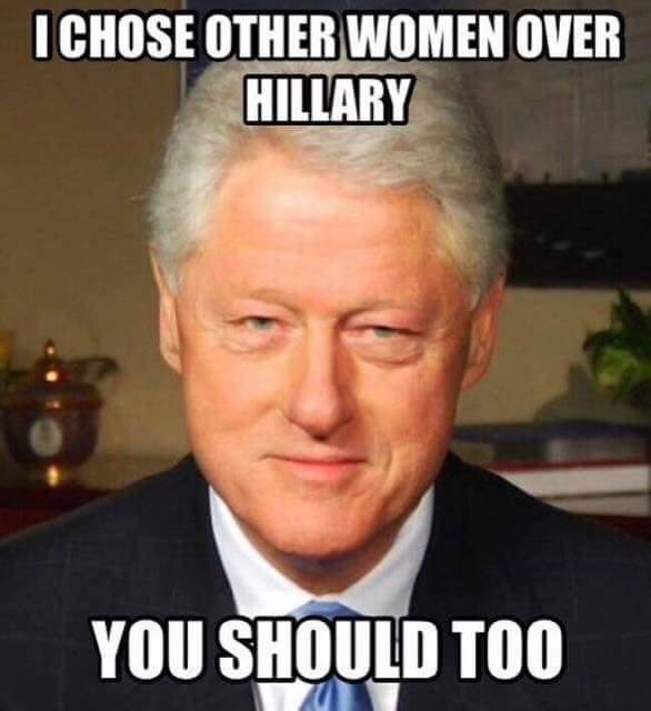 Hillary Bill chose other women