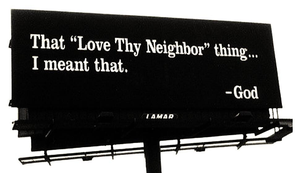 Stupid leftists love they neighbor