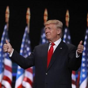 Donald Trump at RNC