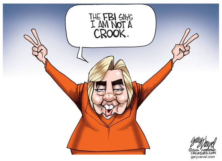 Hillary is not a crook