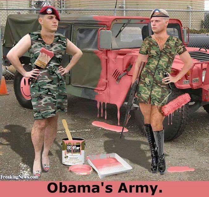 Military Obama's transgender army
