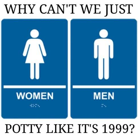 Gender Potty like it's 1999