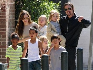 Brad Pitt Angelina Jolie children