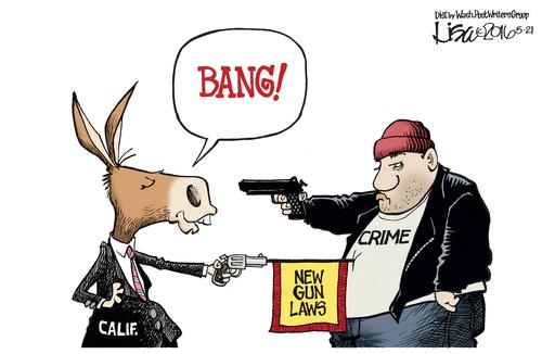 Gun California new gun laws