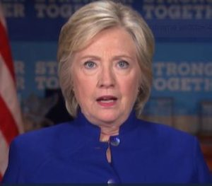 Hillary Clinton 50 points