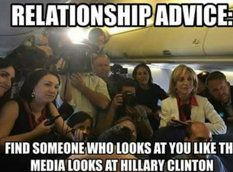 Hillary media love affair