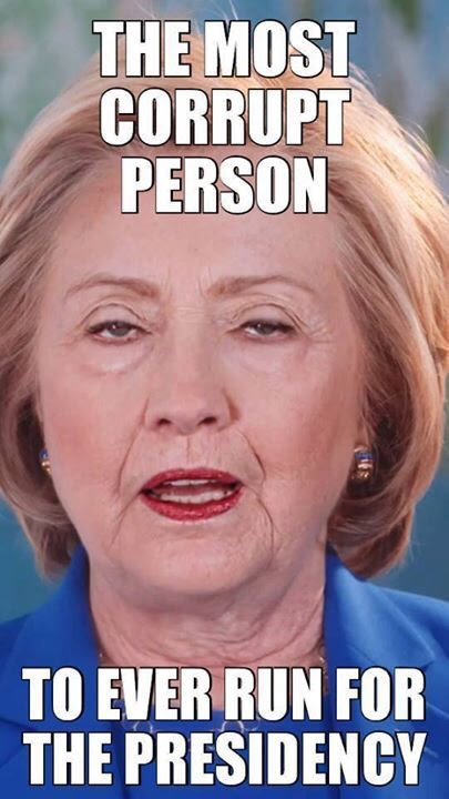 Hillary most corrupt candidate ever