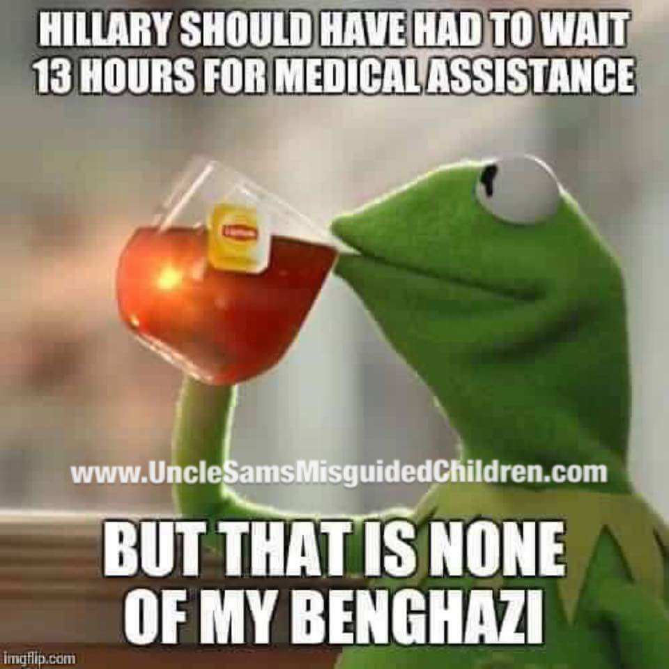 Hillary wait 13 hours benghazi