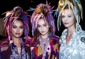 Marc Jacob's dreadlocked runway models