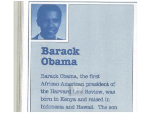 Obama Kenya literary bio